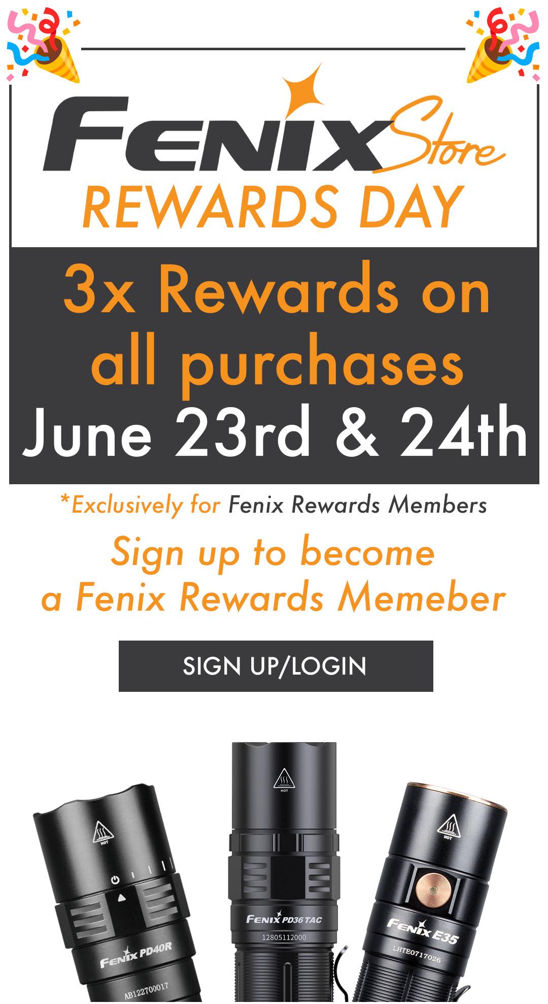FENIX REWARDS DAY