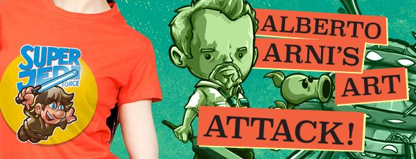 Ript Apparel Alberto Arni's Art Attack