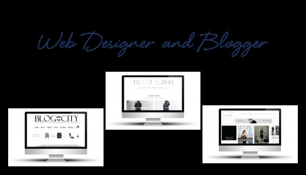 Web Designer & Blogger - Screenshots of Sites