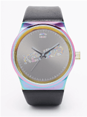 Kenzo Logo Rainbow Watch