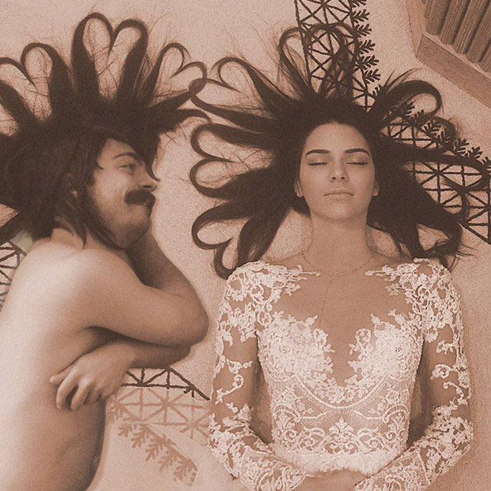 Kirby Jenner in all of his glory... with his sister.