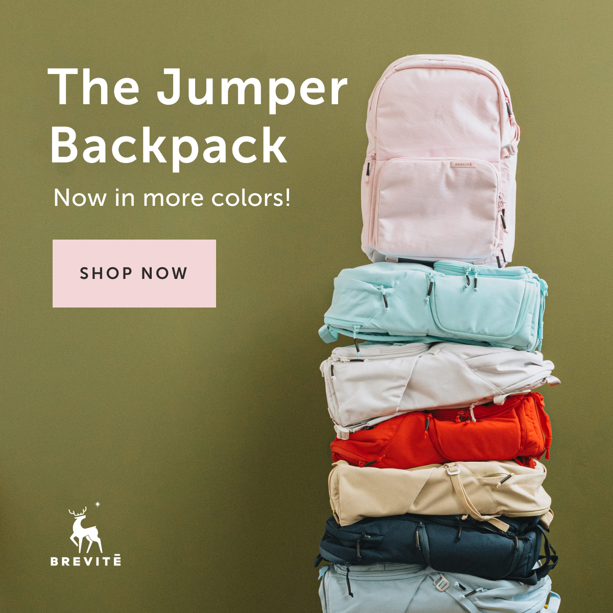The Jumper Backpack — Now in more colors!