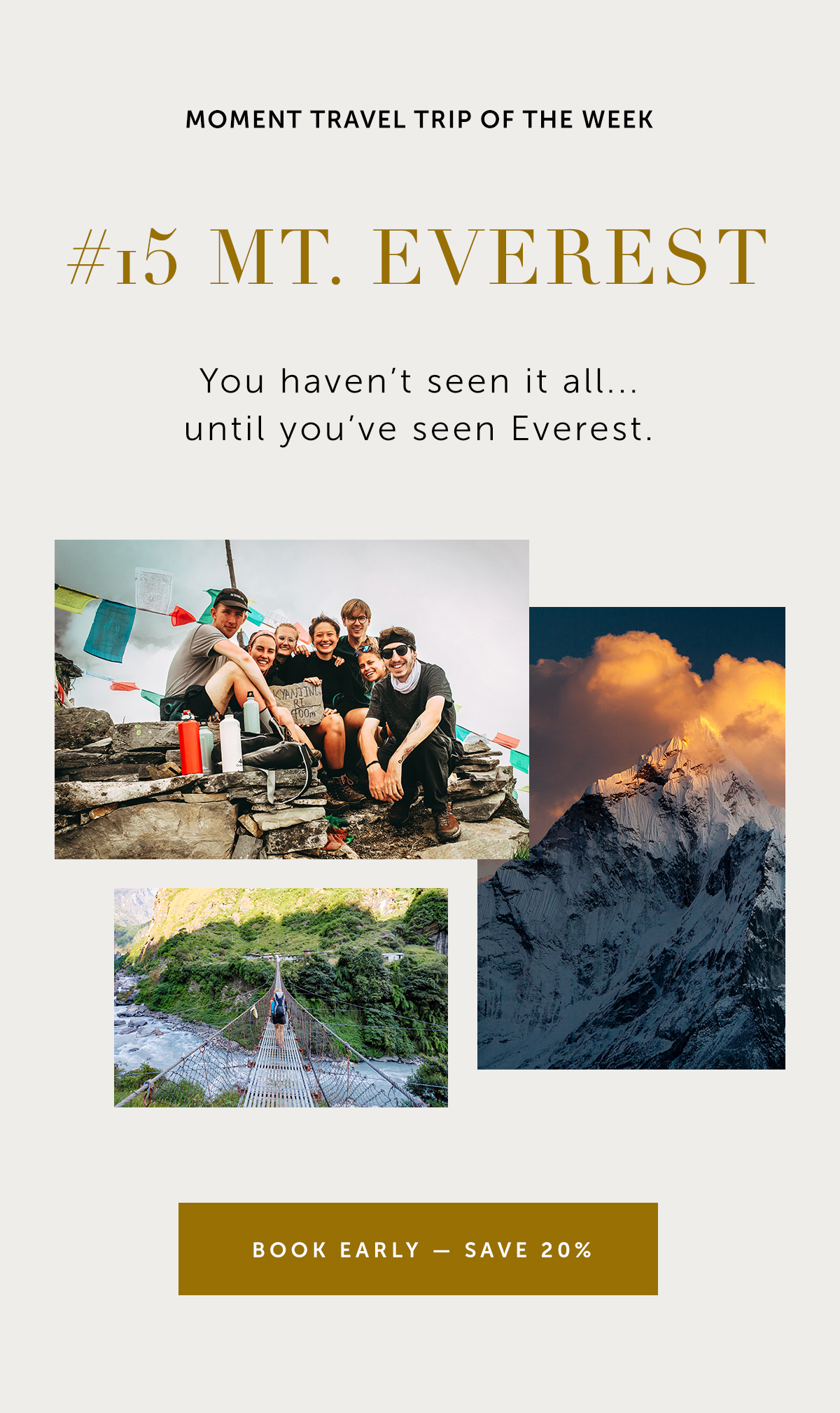 Mt. Everest—Among Mountains, Monasteries, & Markets with Ariel Estulin