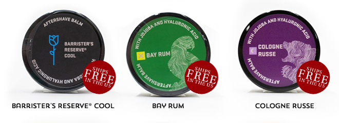 Barristers Reserve® Cool , Bayrum , Cologne Russe
