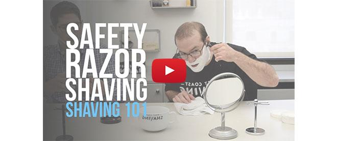 Safety Razor Shaving - Shaving 101