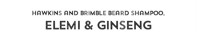 Hawkins and Brimble Moustache Wax, Elemi & Ginseng