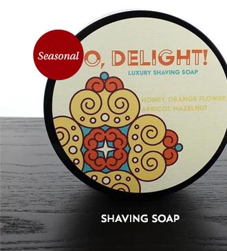 Barrister and Mann Shaving Soap, O,Delight!