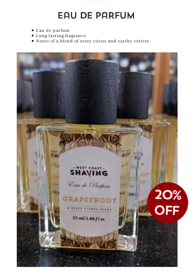 20% Off WCS Grapefroot Eau de Parfum