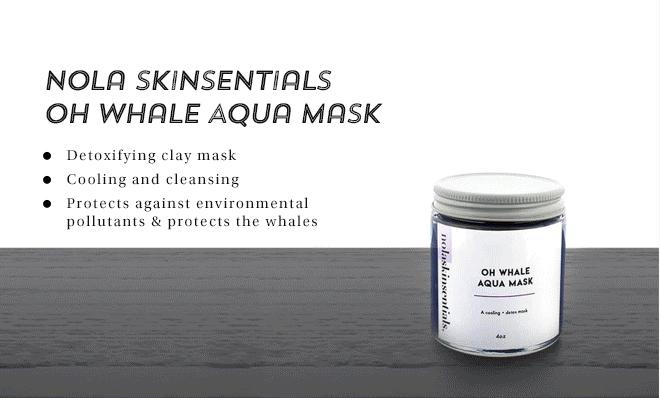 Nola Skinsentials Oh Whale Aqua Mask