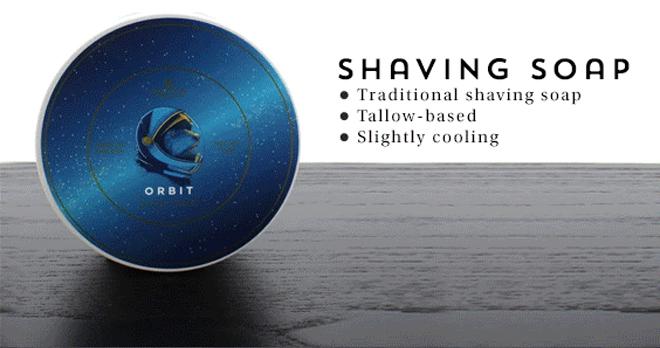Noble Otter Shaving Soap, Orbit