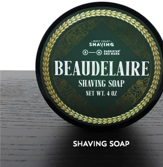 Barrister and Mann Shaving Soap, Beaudelaire
