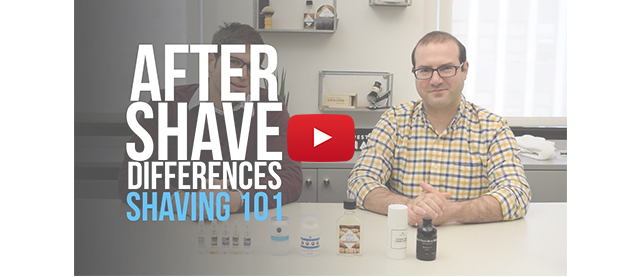 After Shave Differences - Shaving 101
