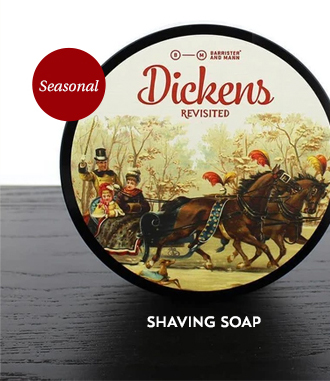 Barrister and Mann Shaving Soap, Dickens Revisited