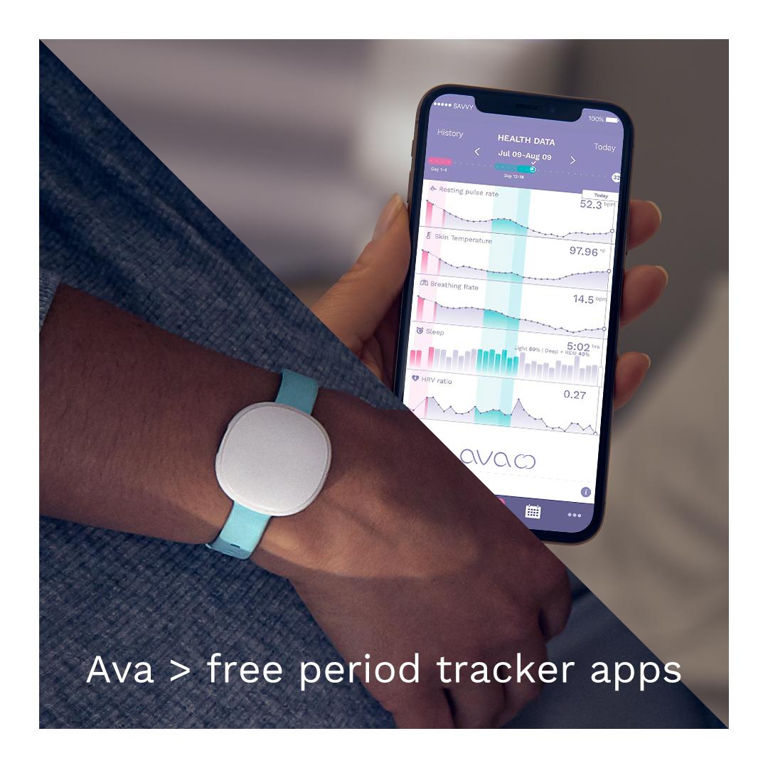 Ava > period tracker apps