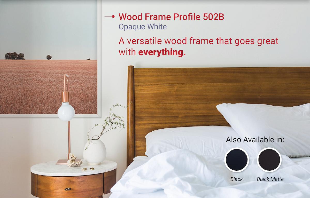 Wood Frame Profile 502B