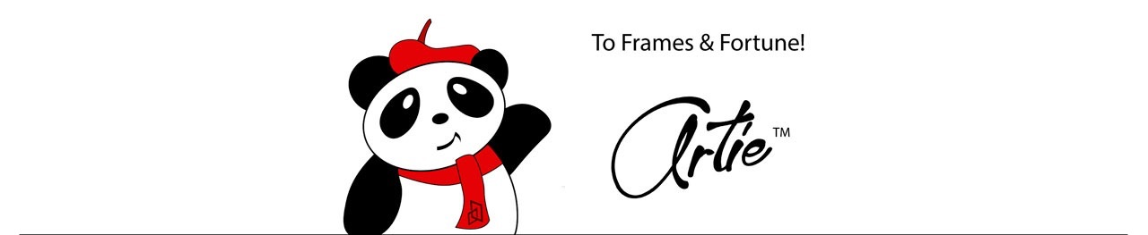 To Frames & Fortune from Artie the Panda!