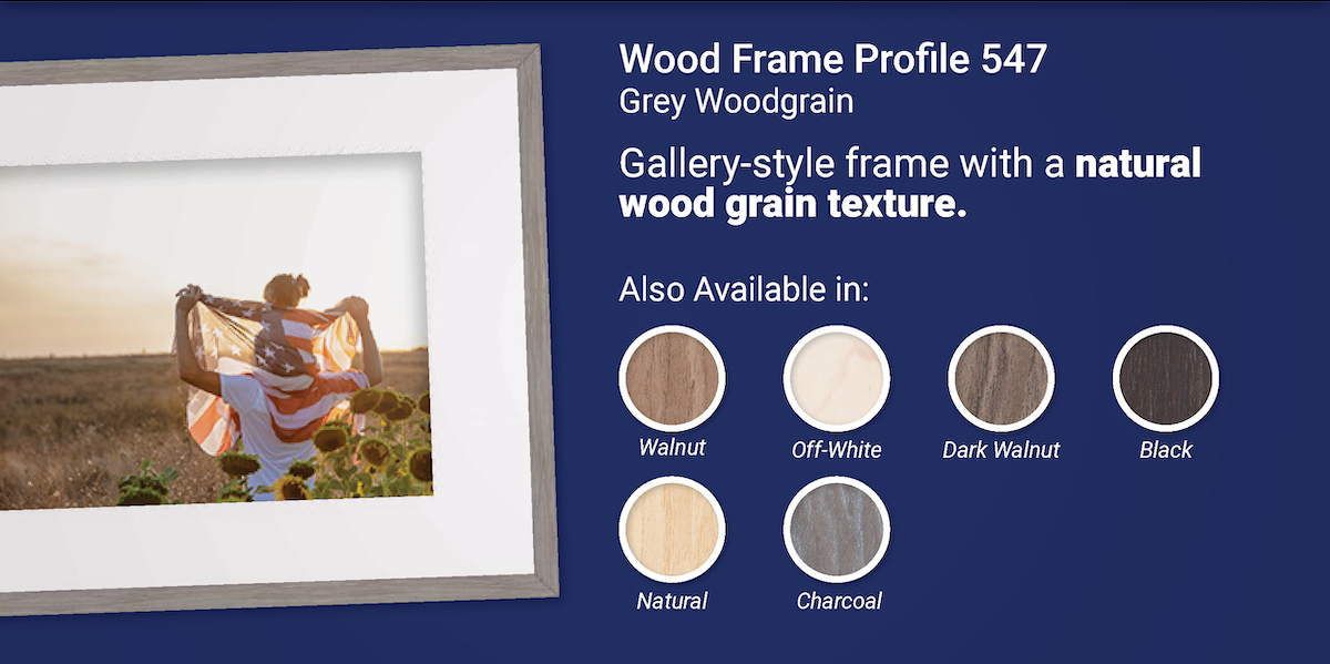 Wood Frame Profile 547