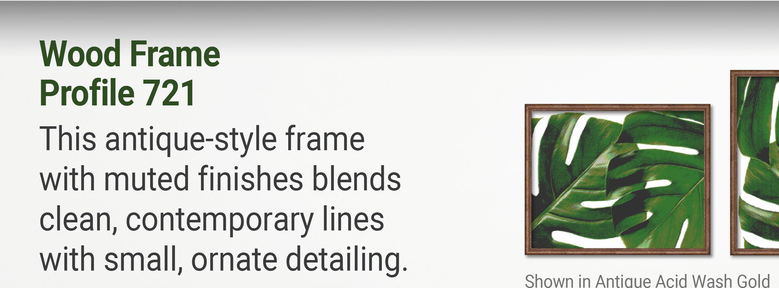 Wood Frame Profile 721