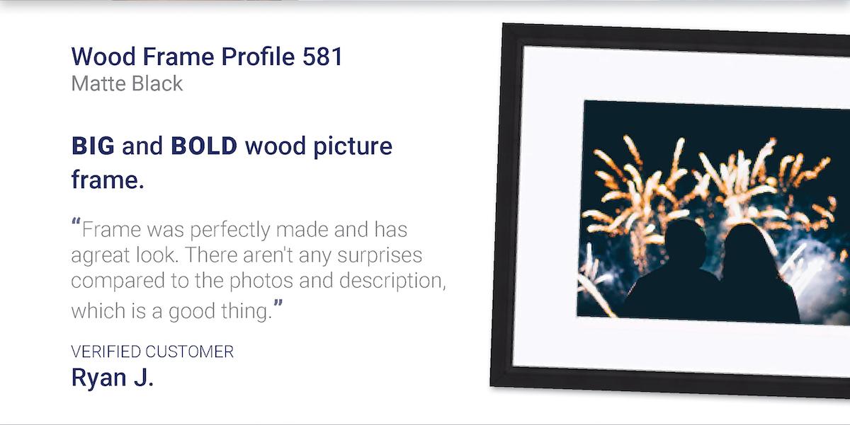 Wood Frame Profile 581