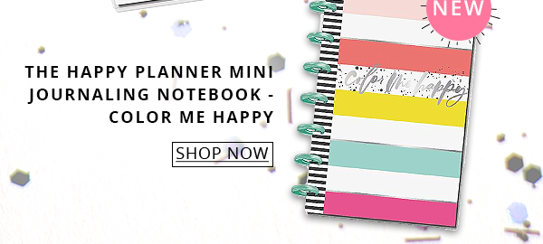 The Happy Planner Mini Journaling Notebook - Color Me Happy
