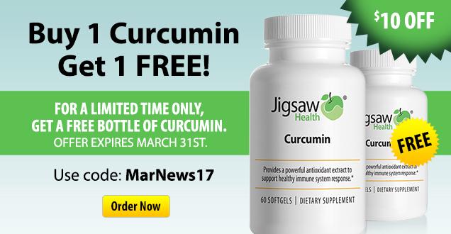 Buy 1 Curcumin Get 1 Free!