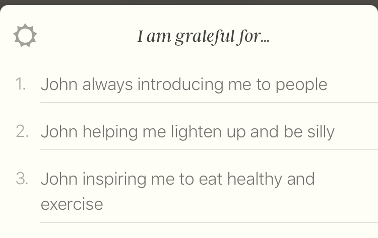 5 minute journal app gratitude
