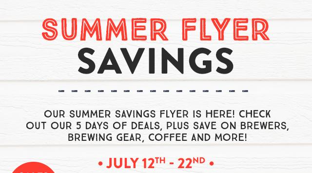 Summer Flyer Savings