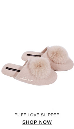 Puff Love Slipper