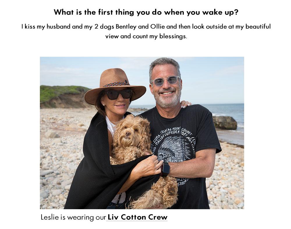 Liv Cotton Crew