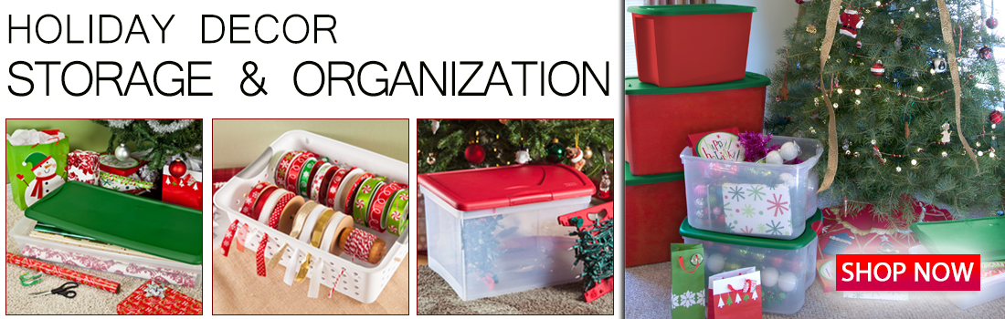 Holiday Decor Storage and Organization with Essential Hardware