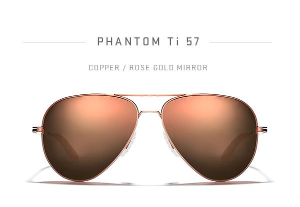 PHANTOM Ti 57 - Copper / Rose Gold Mirror