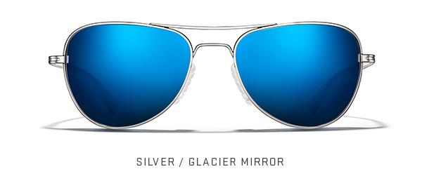 Silver / Glacier Mirror