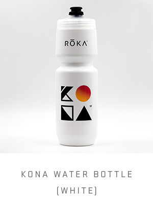 KONA Water Bottle (White)