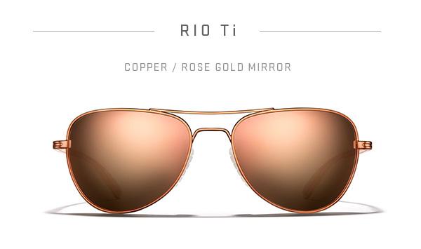 RIO Ti - Copper / Rose Gold Mirror