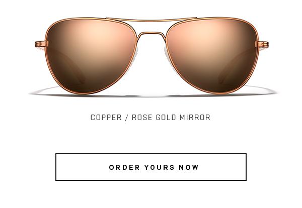 Copper / Rose Gold Mirror