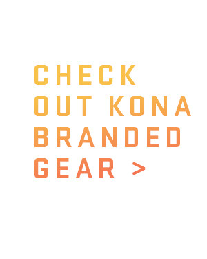 Check Out Kona Branded Gear