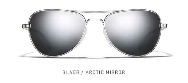 Silver / Arctic Mirror