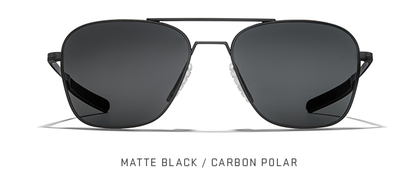 Matte Black / Carbon Polar