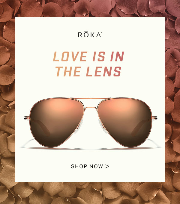 Ultralight Performance Eyewear in the perfect shade for your valentine.