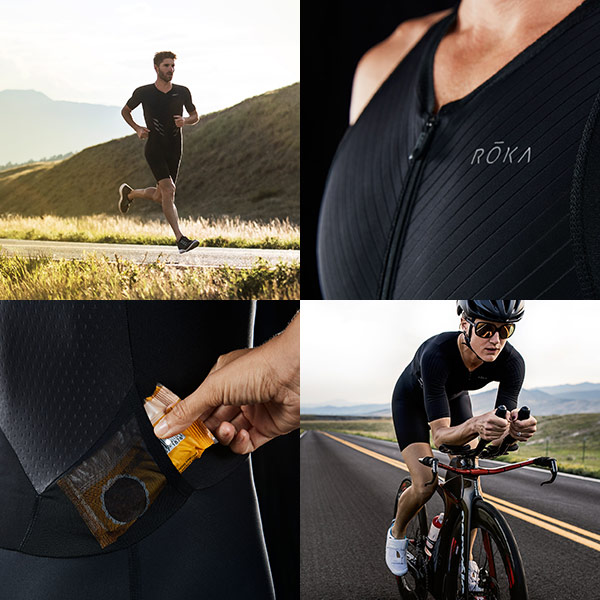 Features designed to help you race faster, farther, more comfortably.