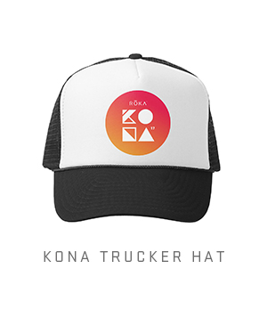 KONA Foam Trucker Hat