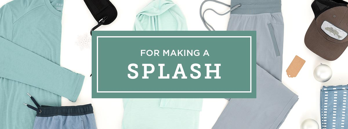 Gifts for making a splash
