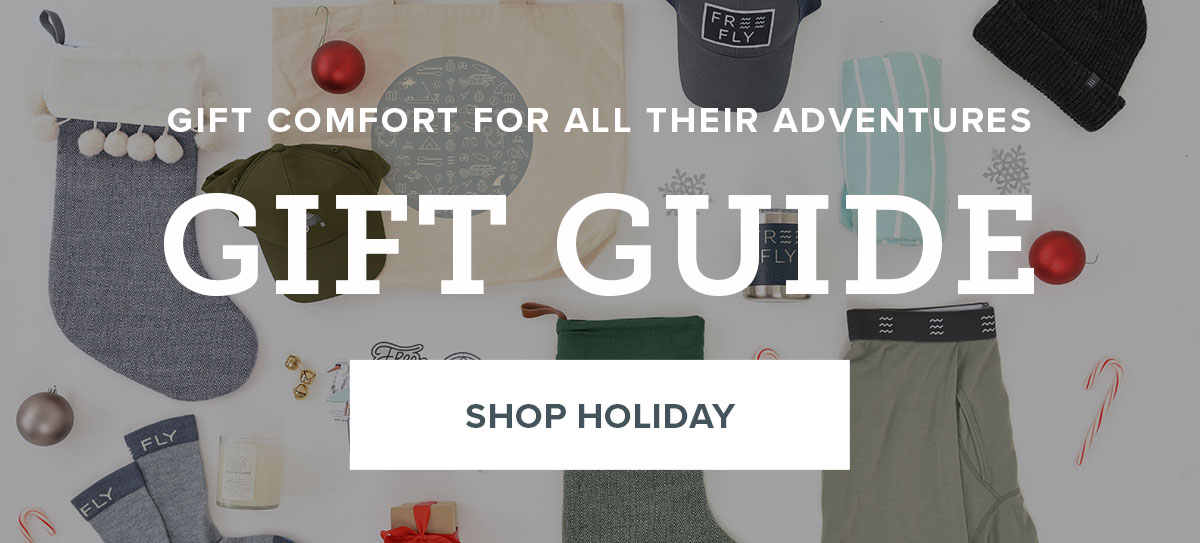 Gift comfort for all their adventures. Shop Holiday Gift Guide.