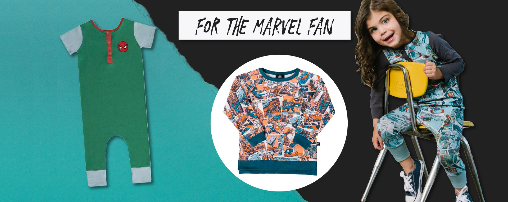 RAGS Gift guide for the MARVEL and Avengers fan