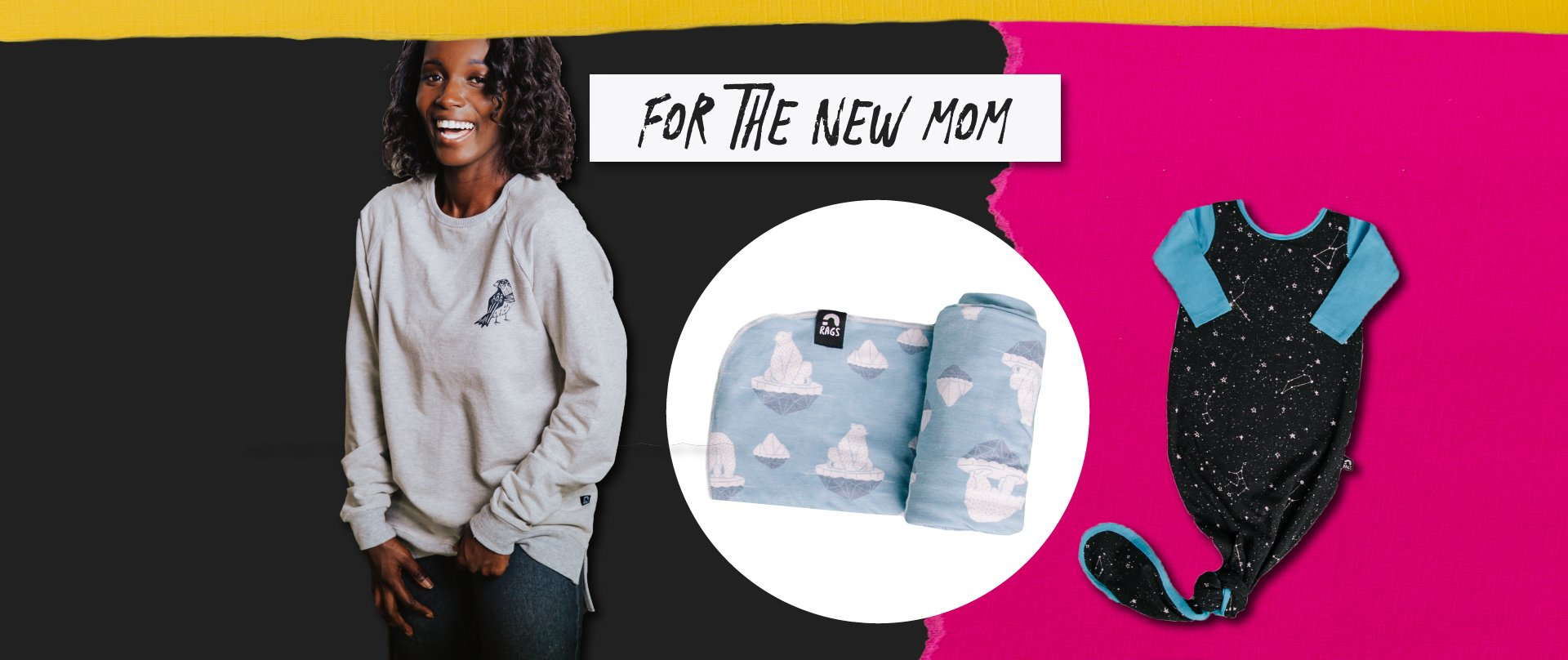 RAGS Gift guide for the new mom
