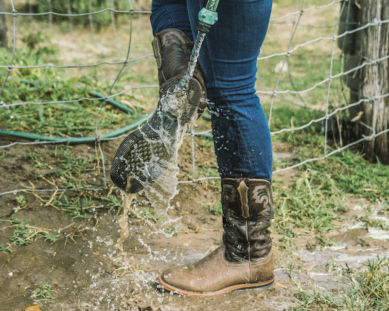 The All-New Barn Boot is Water-, Slip-, and Oil-Resistant