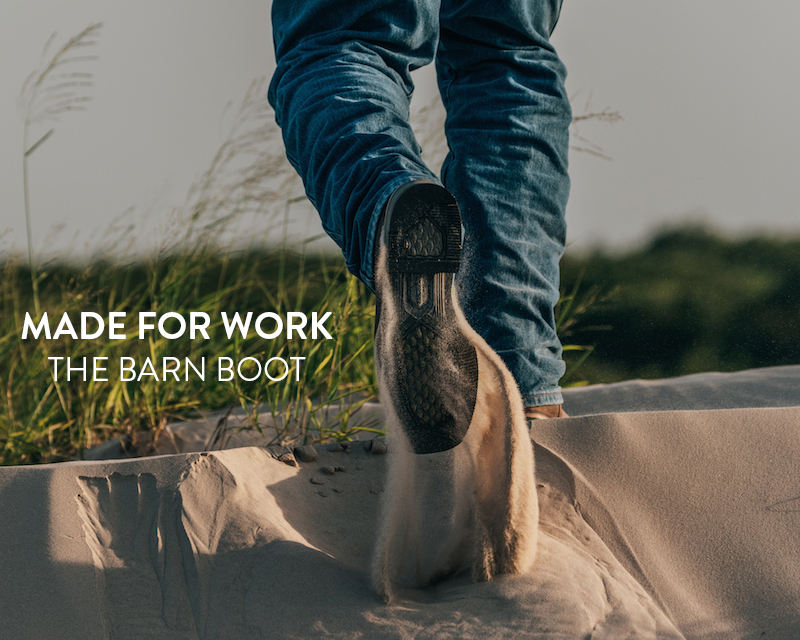 The All-New Barn Boot Gets Rid of Mud and Dirt