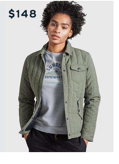 Women's Bison Snap Jacket
