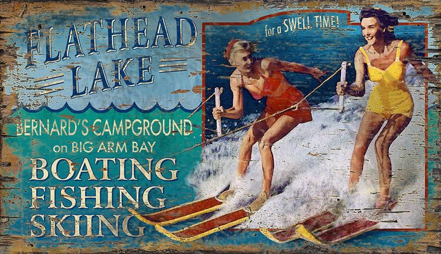 Ski Flathead Lake - Custom