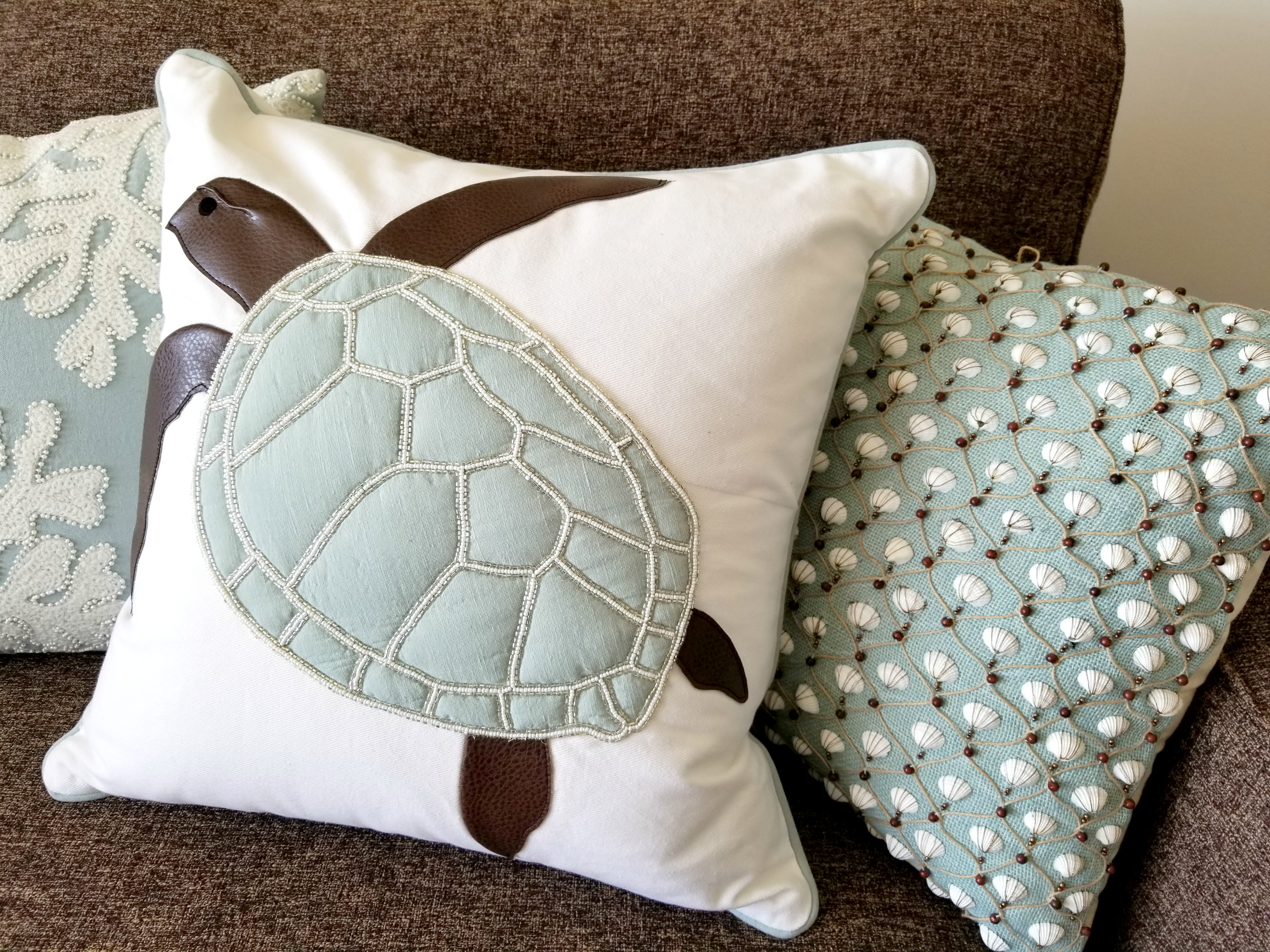 Coastal Living Pillows
